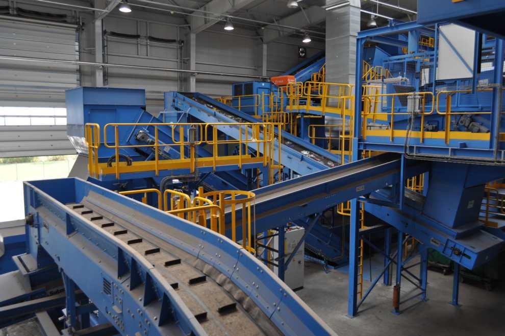modernizacja sortowni odpadów