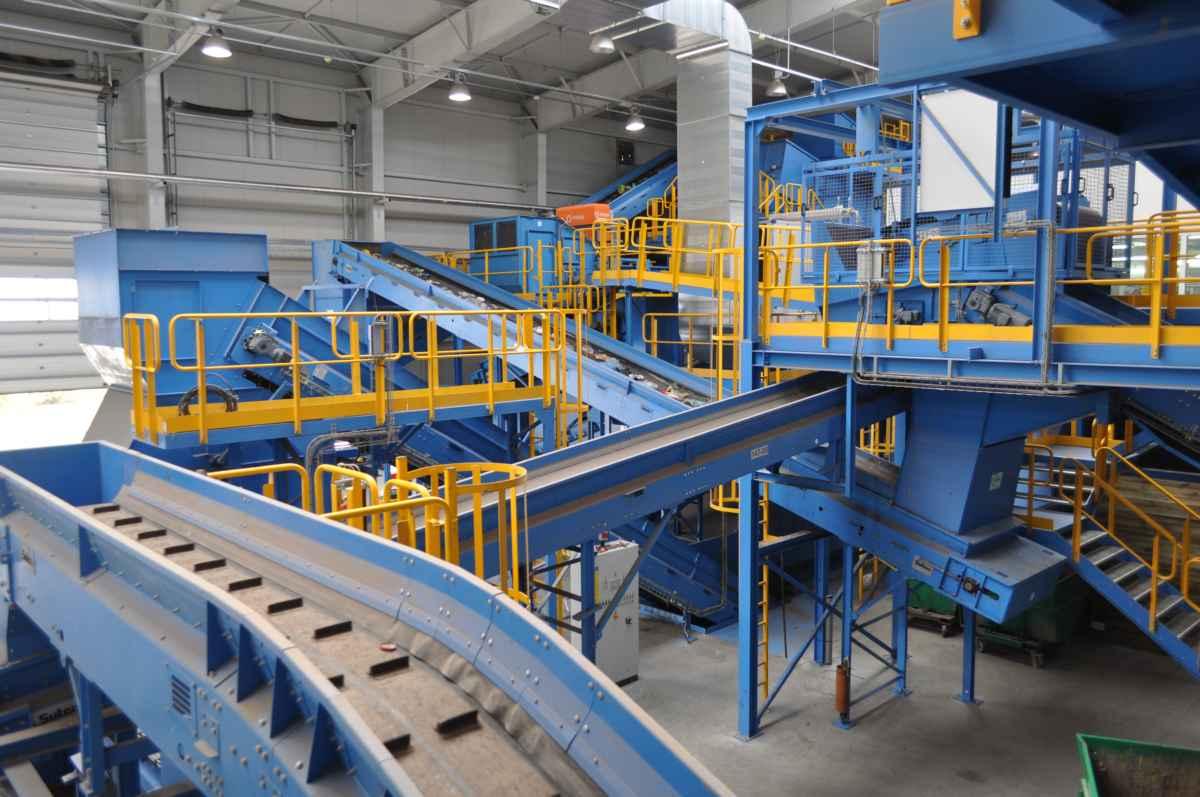 przetarg na modernizację sortowni odpadów